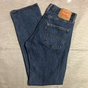 Levi's 501 High Rise Jeans